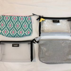 NEW Cosmetic Bags Victoria's Secret Clinique Ulta
